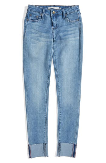 Tractr Cuffed Skinny Jeans (Big Girls)