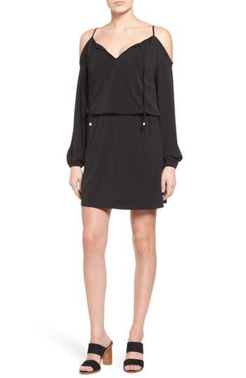 MICHAEL Michael Kors Cold Shoulder Blouson Dress
