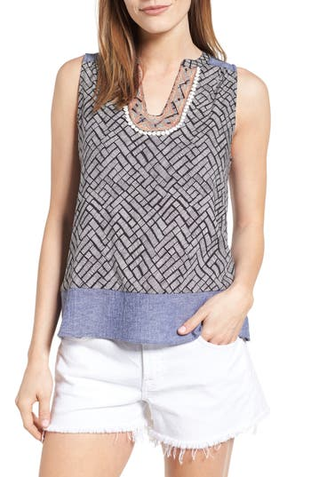 THML Embroidered Print Tank