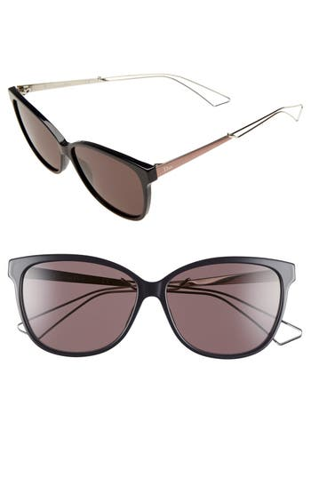 Dior 'Confident 2' 57mm Sunglasses