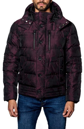 Jared Lang Alaska Camo Down Puffer Coat
