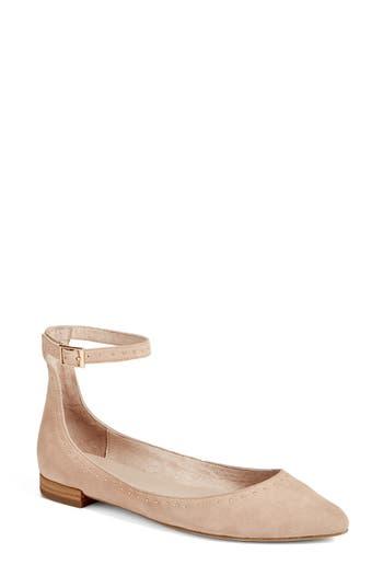 Joie Afra Ankle Strap Ballet Flat (Women)