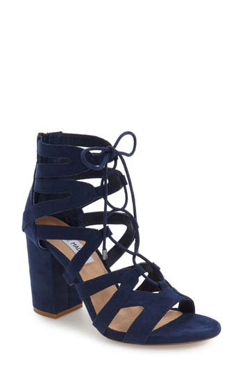Steve Madden 'Gal' Strappy Lace-Up Sandal (Women)