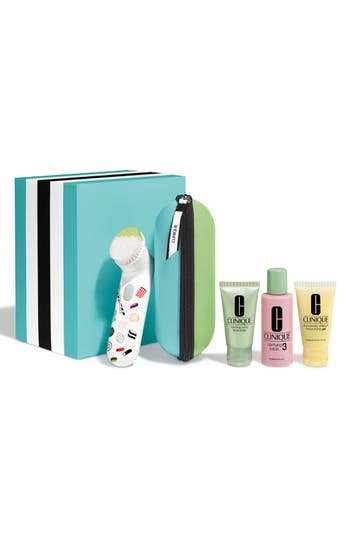 Clinique Sweet Sonic Cleansing System Collection for Combination Oily to Oily Skin Types (Limited Edition) ($124 Value)