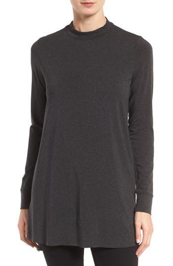 Eileen Fisher Stretch Tencel® Jersey Tunic (Regular & Petite)