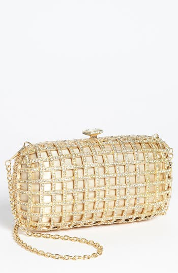 Natasha Couture Caged Clutch