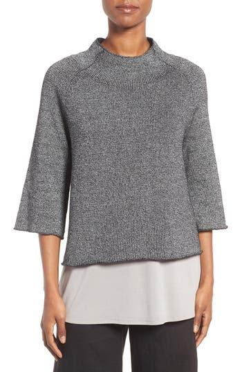 Eileen Fisher Nylon & Organic Cotton Sweater