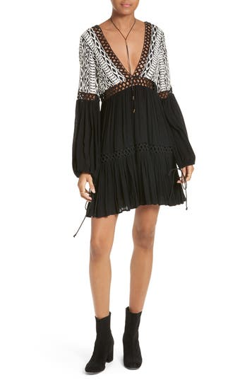 Free People Dusk Till Dawn Minidress