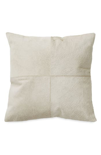 Donna Karan New York Exhale Genuine Calf Hair Pillow