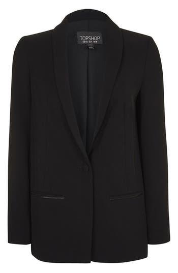Topshop Slouch Tuxedo Jacket