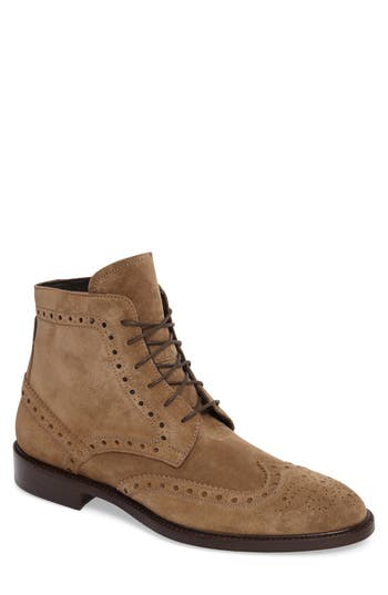 Crosby Square Stuart Wingtip Boot (Men)