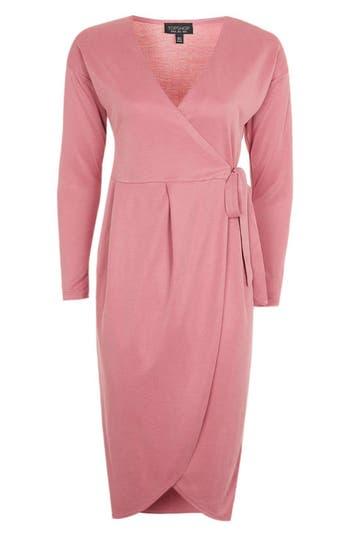 Topshop Dolman Sleeve Wrap Dress