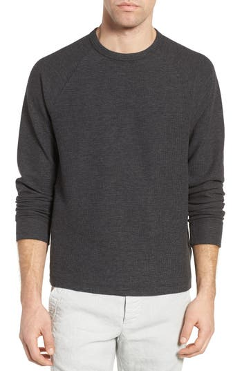 James Perse Waffle Jersey Pullover