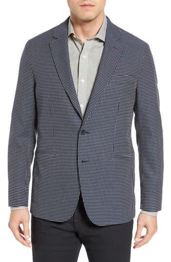 Bugatchi Textured Cotton Blazer