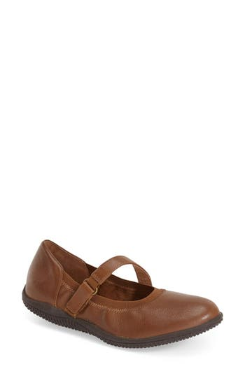 SoftWalk® 'Hollis' Mary Jane Flat (Women)