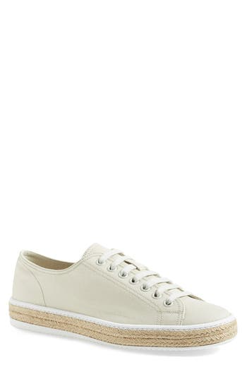 Prada Gabardine Espadrille Sneaker (Men)