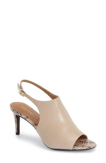 Calvin Klein 'Lotty' Slingback Sandal (Women)