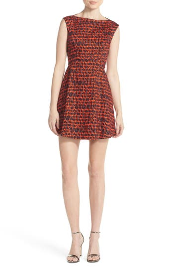 French Connection 'Canyon Sands' Print Fit & Flare Dress