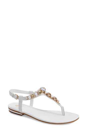 Isolá 'Monica' Crystal Embellished Sandal (Women)