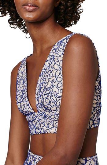 Topshop Corded Lace Bralette (Petite)