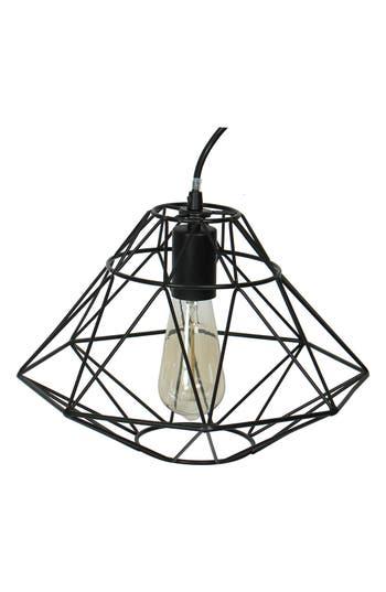 Crystal Art Gallery 'Diamond' Caged Edison Bulb Pendant Lamp