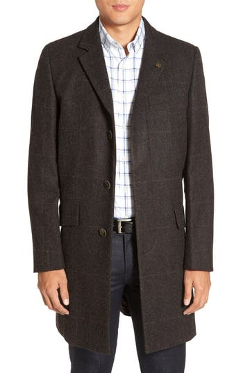 Vince Camuto Plaid Hunting Jacket