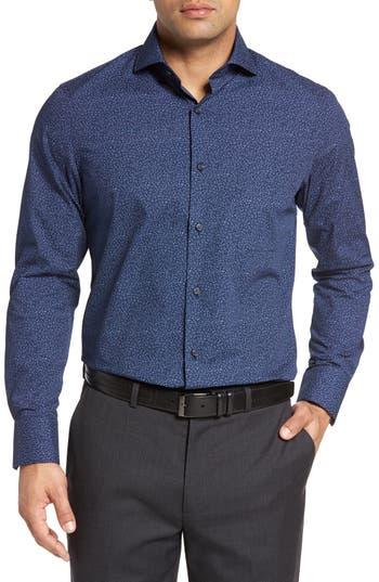 John W. Nordstrom® Regular Fit Non-Iron Print Sport Shirt