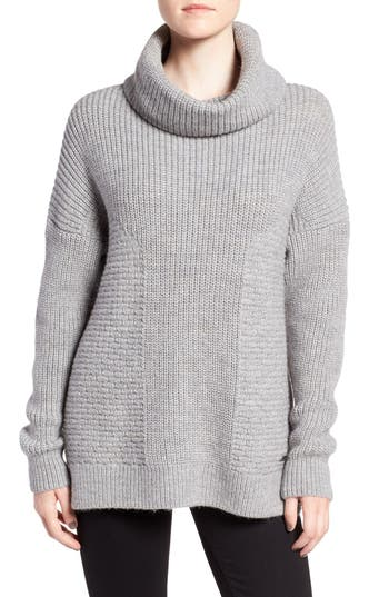 Barbour Textured Cowl Neck Pullover