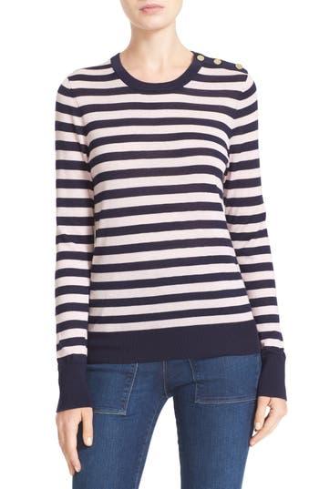 Equipment Ondine Stripe Silk & Cashmere Sweater