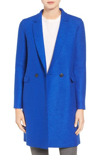 Harris Wharf London Double Breasted Wool Coat