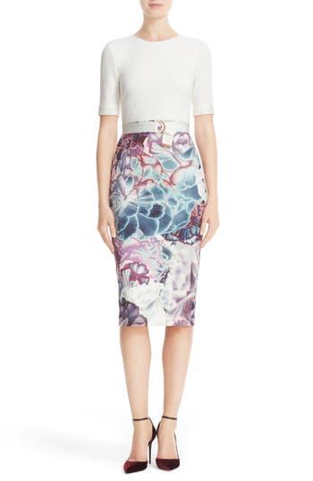 Ted Baker London Illuminated Bloom Sheath Dress
