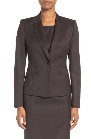 BOSS Jobina Wool Suit Jacket (Regular & Petite)
