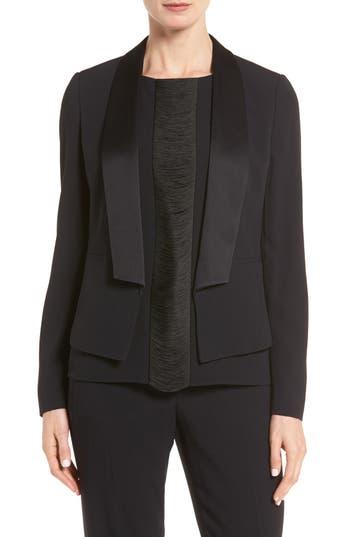 BOSS Jefila Satin Collar Jacket (Regular & Petite)