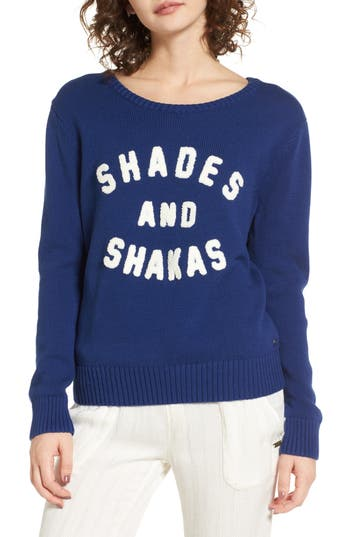 Roxy Higher Ground Graphic Sweater