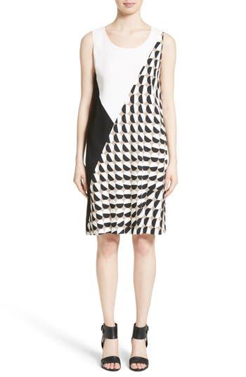 Lafayette 148 New York Diega Print Shift Dress