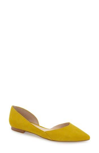 Marc Fisher LTD 'Sunny' Half d'Orsay Flat (Women)