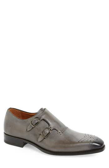Mezlan 'Gris' Double Monk Strap Shoe (Men)