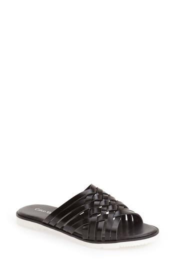 Calvin Klein 'Marimba' Slide Sandal (Women)