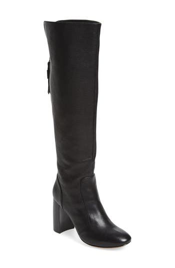 Linea Paolo 'Blake' Block Heel Tall Boot (Women)