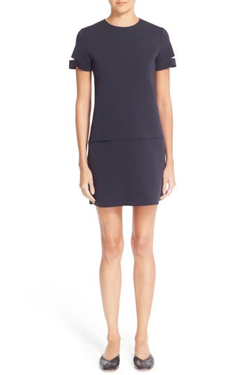 Helmut Lang Slit Sleeve Tech Neoprene Dress