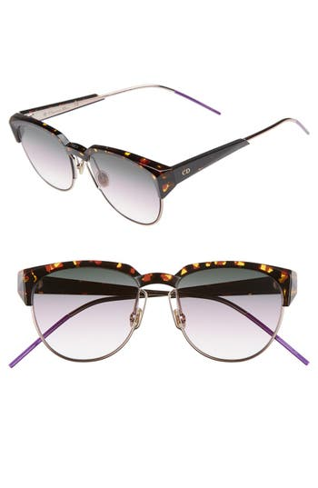 Dior Spectra 53mm Cat Eye Sunglasses
