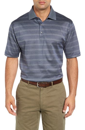 Bobby Jones Birdie Jacquard Stripe Polo