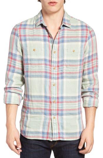 Nordstrom Men's Shop Slim Fit Workwear Flannel Shirt