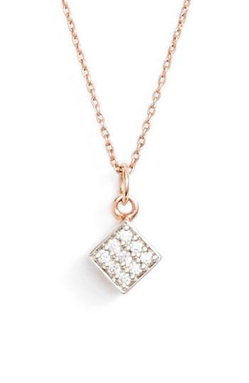ginette ny Mini Diamond Ever Pendant Necklace