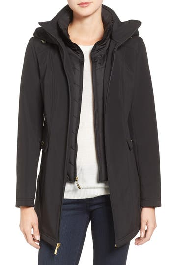 Ellen Tracy A-Line Soft Shell Jacket