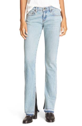 rag & bone/JEAN Lottie High Waist Bootcut Jeans (Huntington)