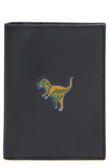COACH Beast Leather Passport Case