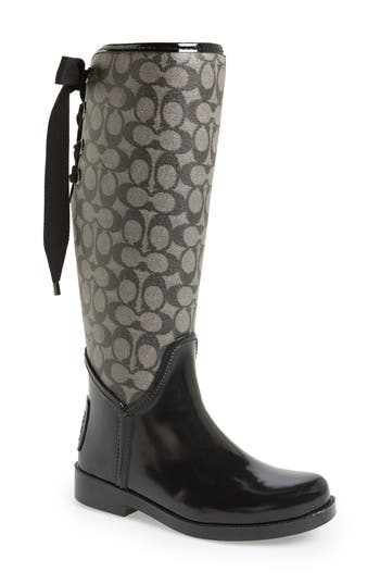 COACH 'Tristee' Rain Boot (Women)