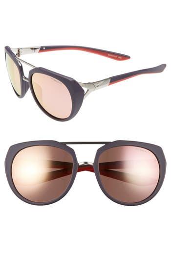Nike Flex Motion 5m Sport Sunglasses - Matte Cave Purple