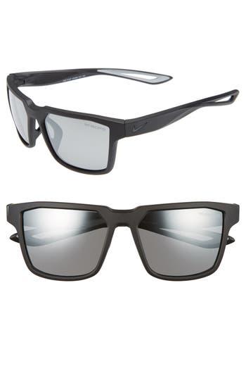 Nike Fleet 55Mm Sport Sunglasses - Matte Black